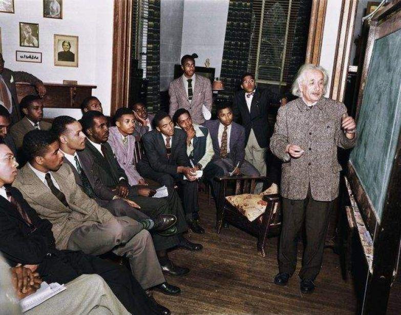 Лекція Ейнштейна про теорію відносності