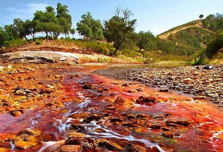 RioTinto06 Рио Тинта: «марсианская» река на Земле