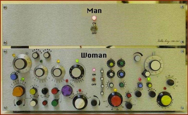 Природа мужика женщина, мужчина, отношения, разница полов, юмор