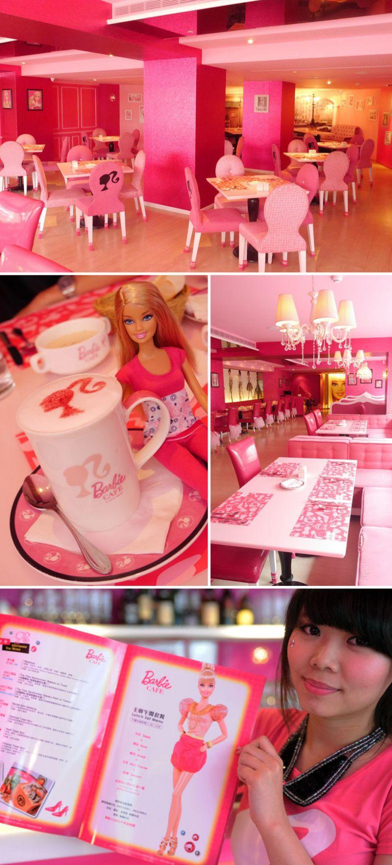 Кафе Barbie, Тайбэй, Тайвань мир, подборка, ресторан
