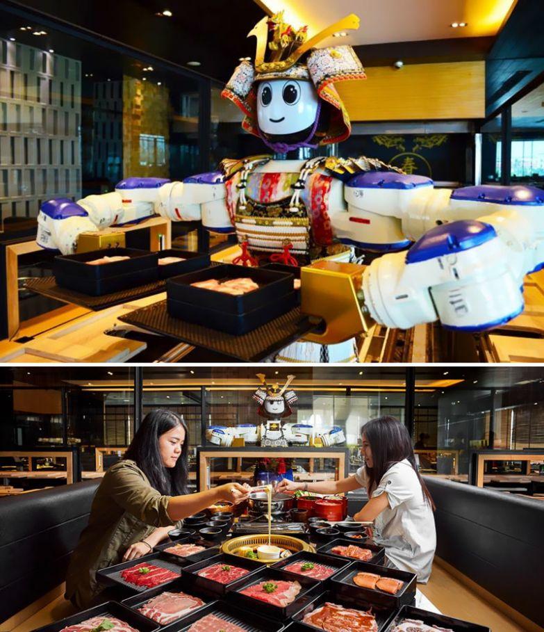 Ресторан, где обслуживающий персонал - роботы, Hajime Robot Restaurant, Бангкок, Таиланд мир, подборка, ресторан