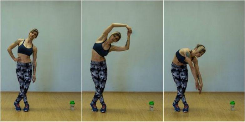 Упражнения для коленей: Растяжка напрягателя широкой фасции бедра
