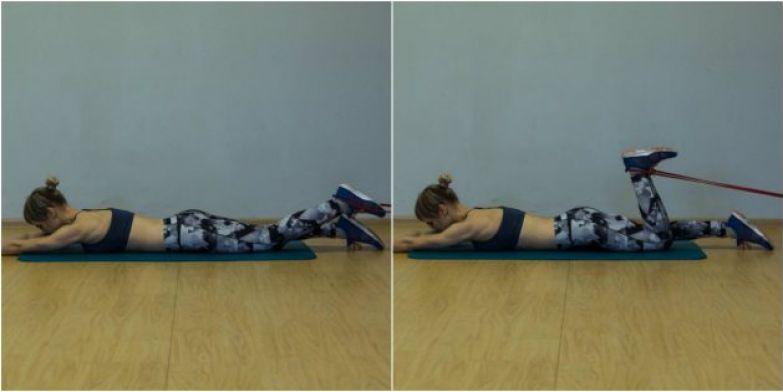 Упражнения для коленей: Подъём голени с сопротивлением