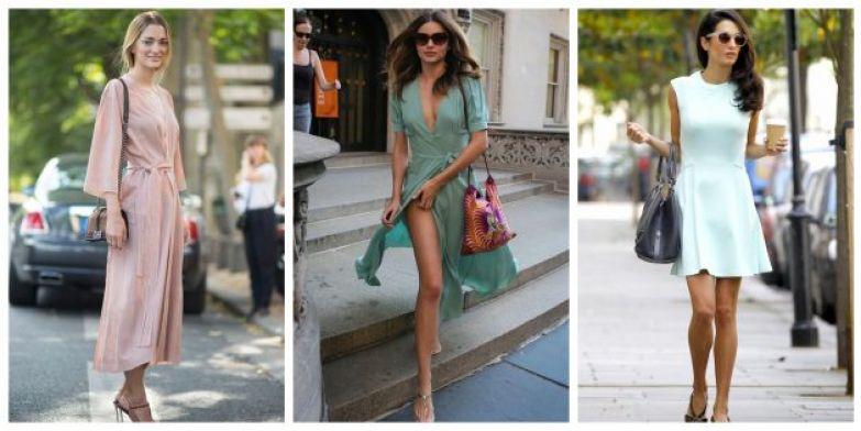 Самые модные платья 2018 года: Пастель