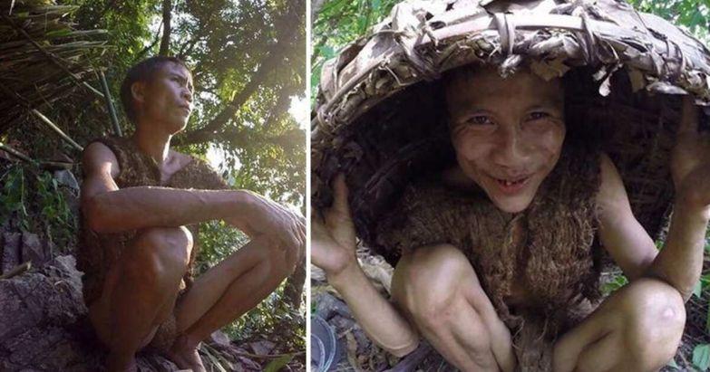 """Современный """"Маугли"""" лишь в 42 года узнал о существовании женщин   В мире   25.06.2021   РЕН ТВ"""