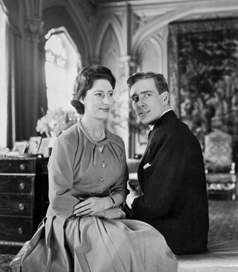 Принцесса Маргарет и Энтони Армстронг Джонс