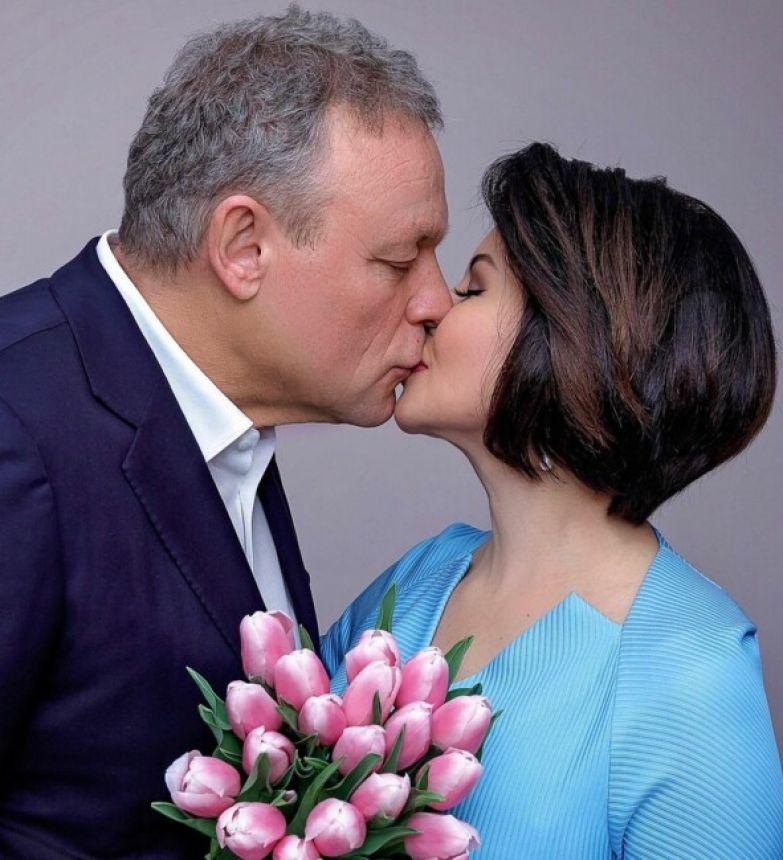 Сергей Жигунов и Виктория Ворожбит