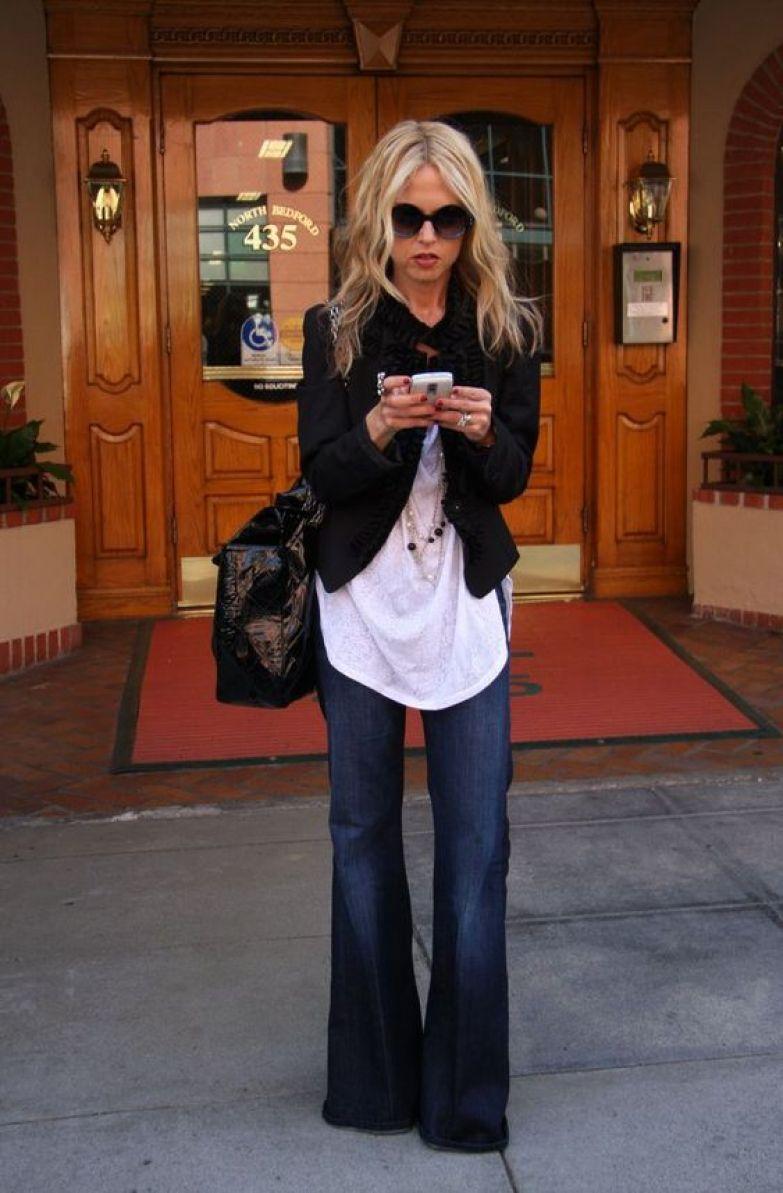 Самые модные фасоны джинсов клеш 2