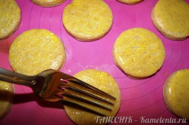 Приготовление рецепта Душистое медовое печенье шаг 8