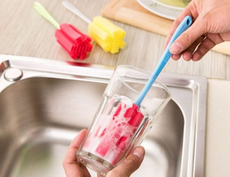 Губка для мытья стаканов и других сосудов