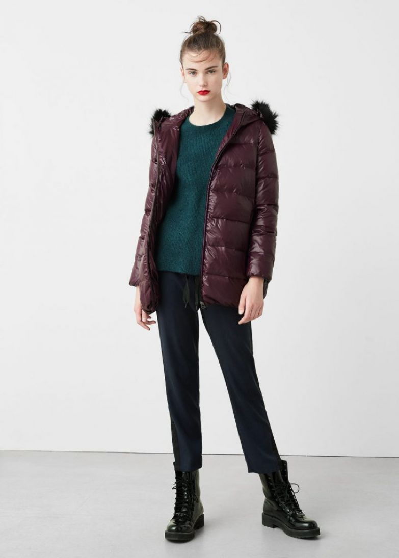 пуховик модный зима 2017