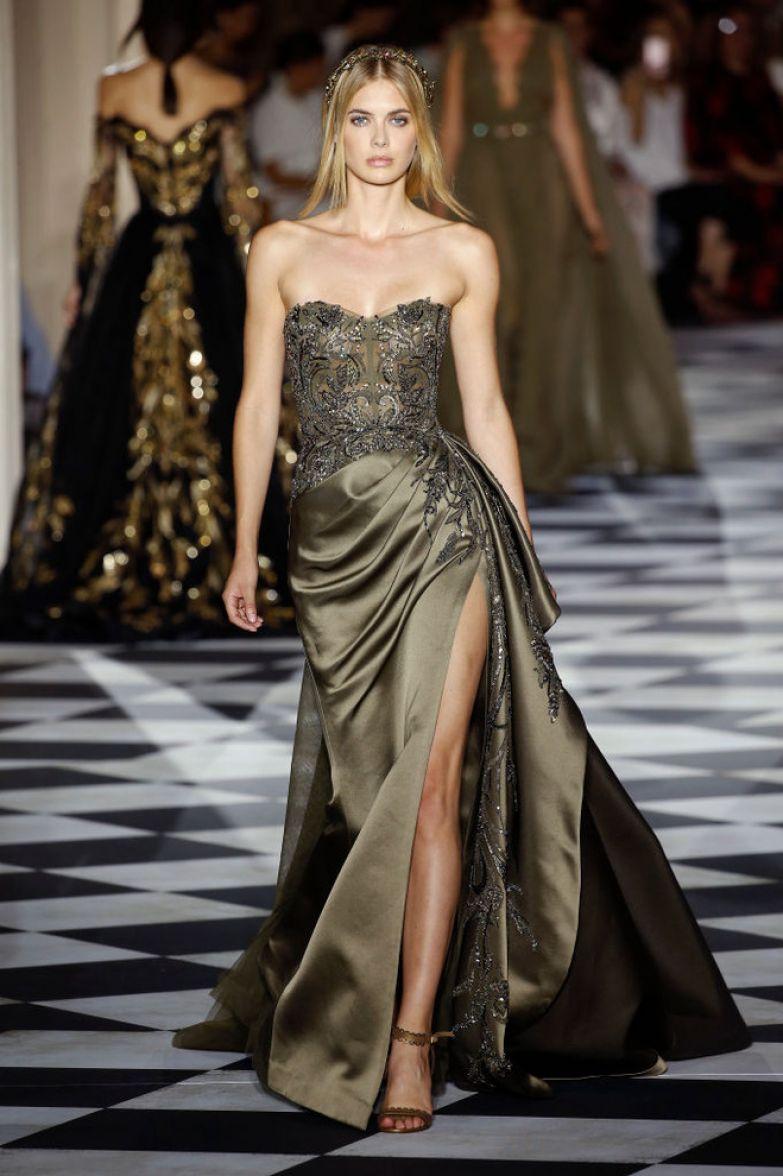 Великолепный век: 10 лучших платьев с показа Zuhair Murad (фото 8)