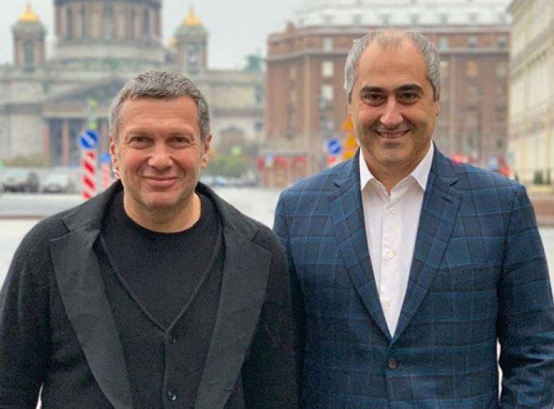 Среди клиентов Горгадзе числится и Владимир Соловьев