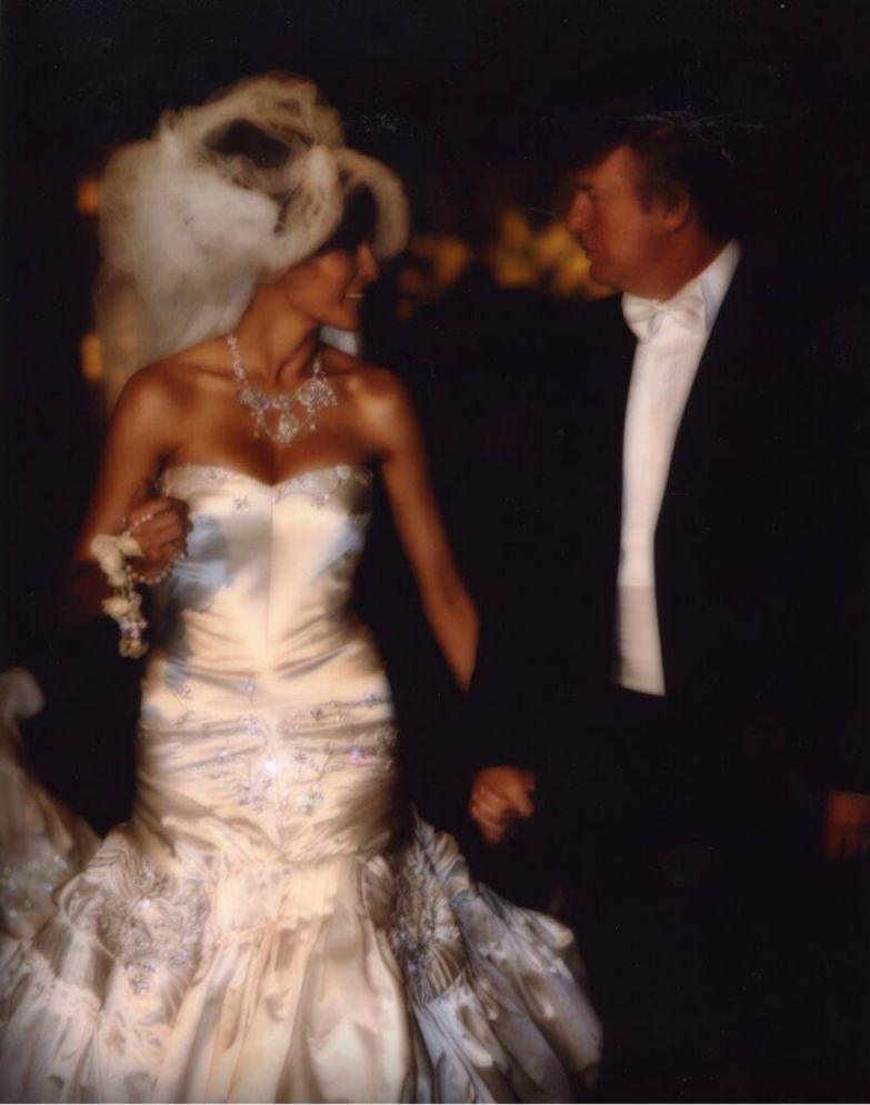 Свадьба Дональда и Мелании Трамп, 2005