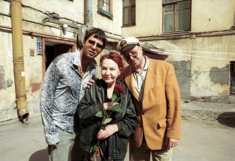 Актерская семья Ургантов: Иван, Нина Николаевна, Андрей