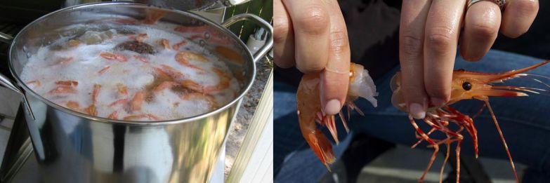 приготовить креветки