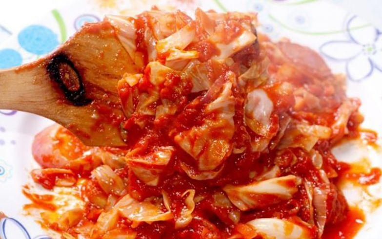 капуста в томатной пасте
