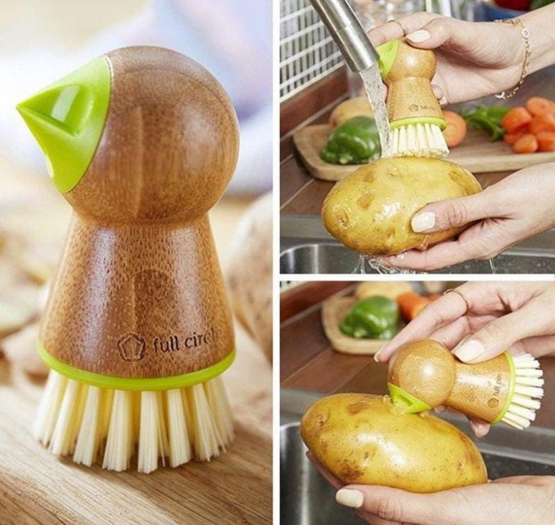 быстрая чистка картофеля