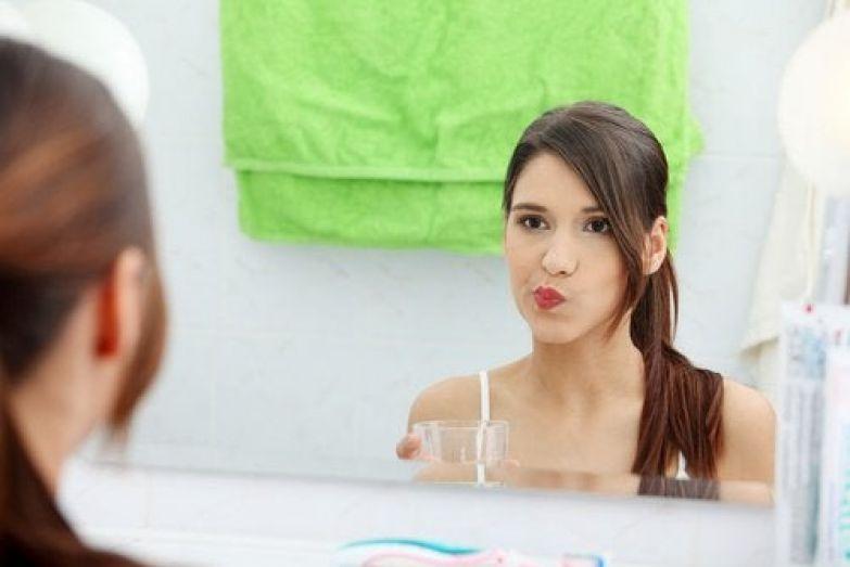 Полоскание рта и сода