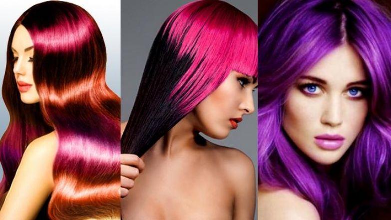 Временное окрашивание волос: яркие тренды лета :: Домашний уход :: «ЖИВИ!