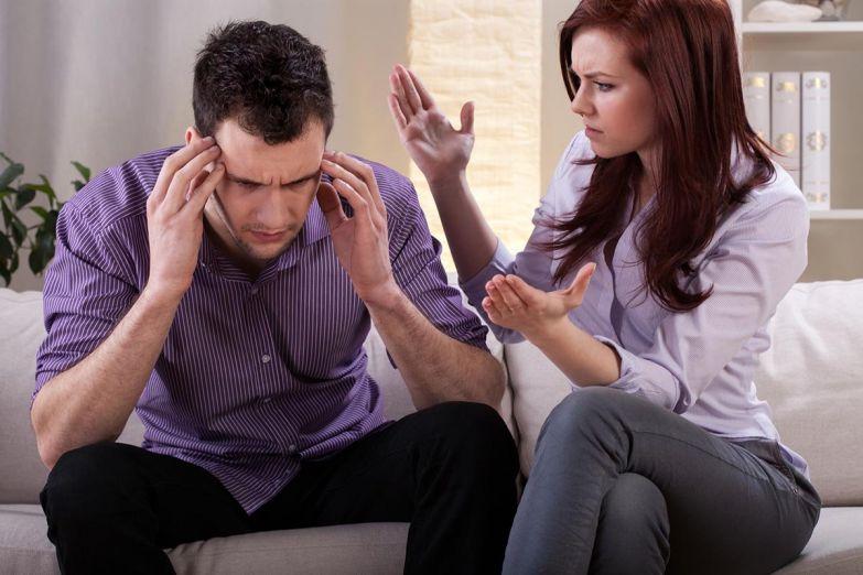 супруги ссорятся