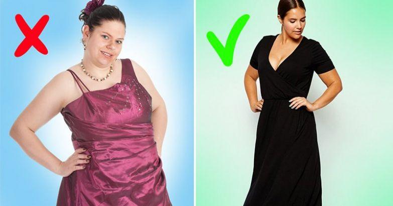 фасоны платьев для полных женщин на каждый день