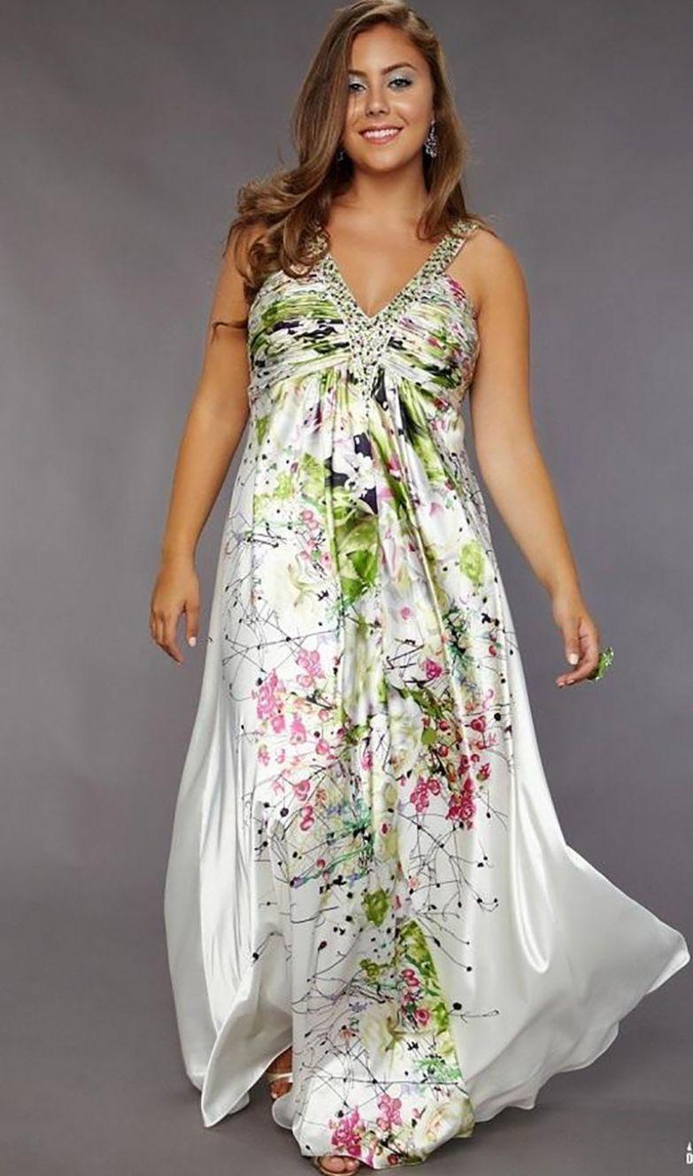 фасоны платьев для полных женщин с большой грудью