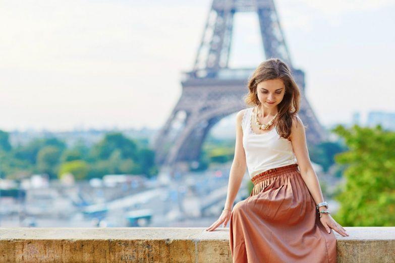 француженка девушка
