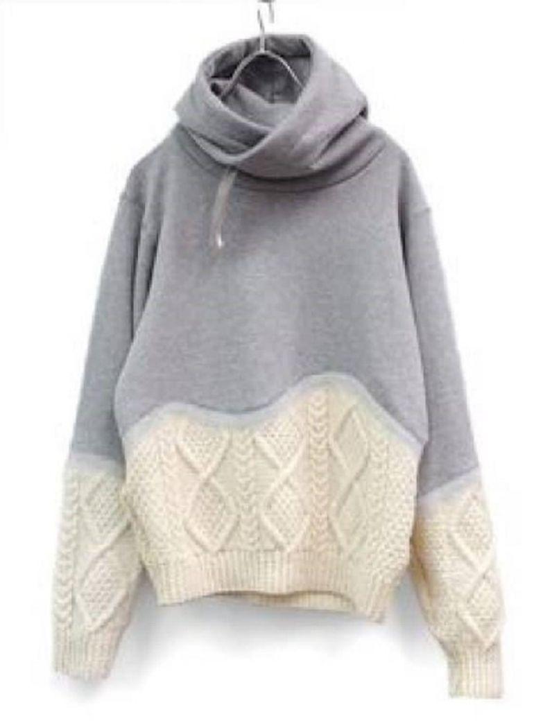 декор свитера вышивкой