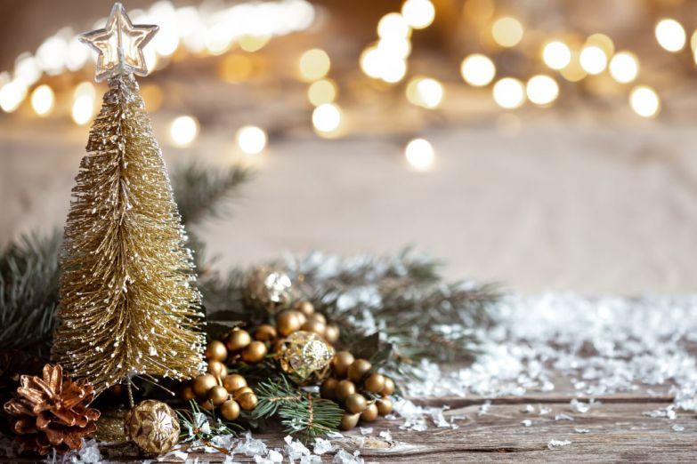в воздухе витает новогоднее настроение
