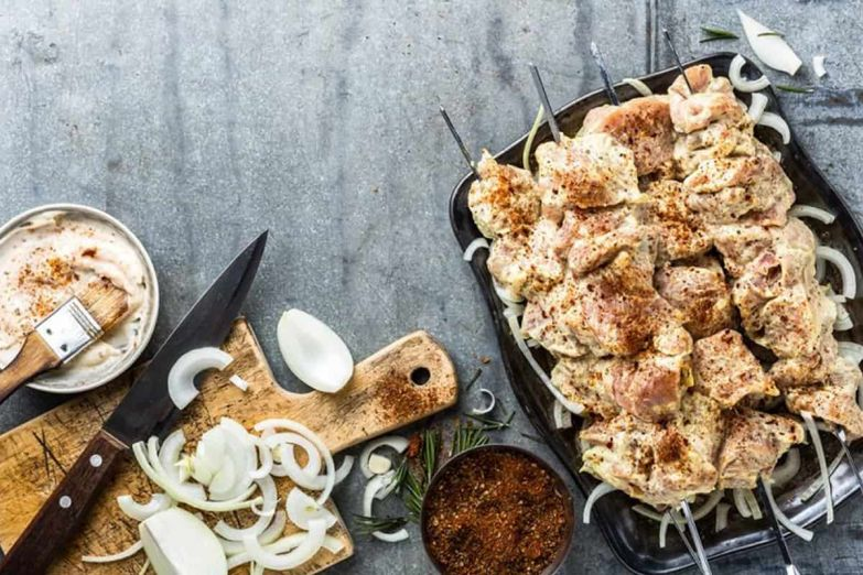 маринад для шашлыка с уксусом и луком