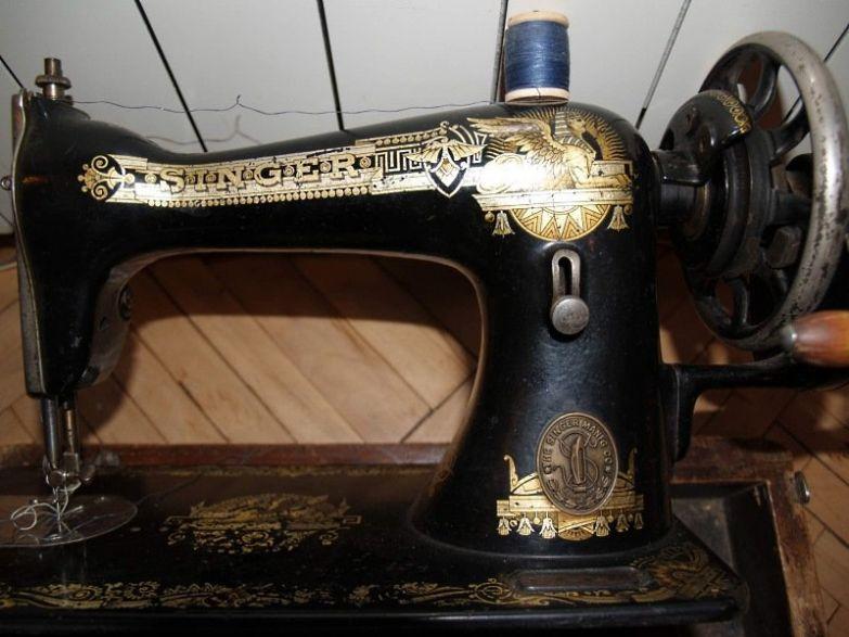 швейная машинка старого образца