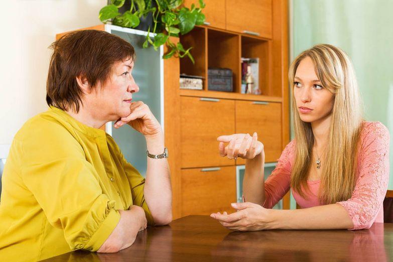 разговор с мамой