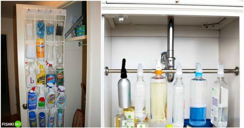 Теперь все бутылки в полном порядке! вещи, идеи, квартира, маскировка, полезное, решение