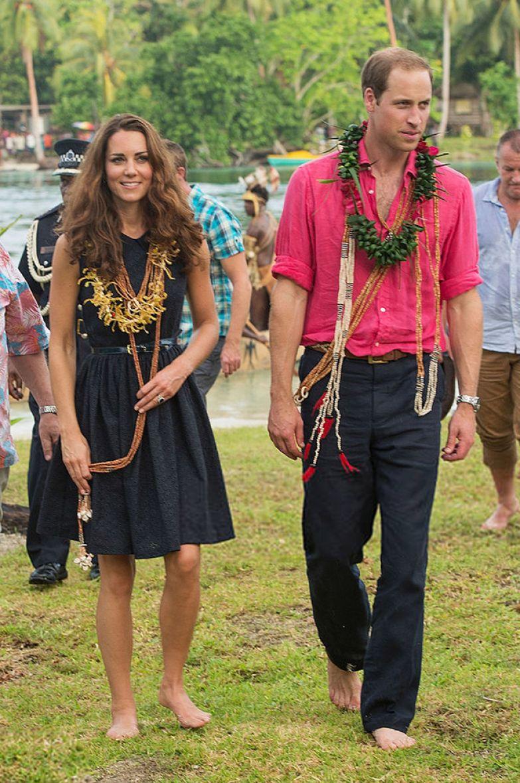Кейт Миддлтон и принц Уильям, 2012