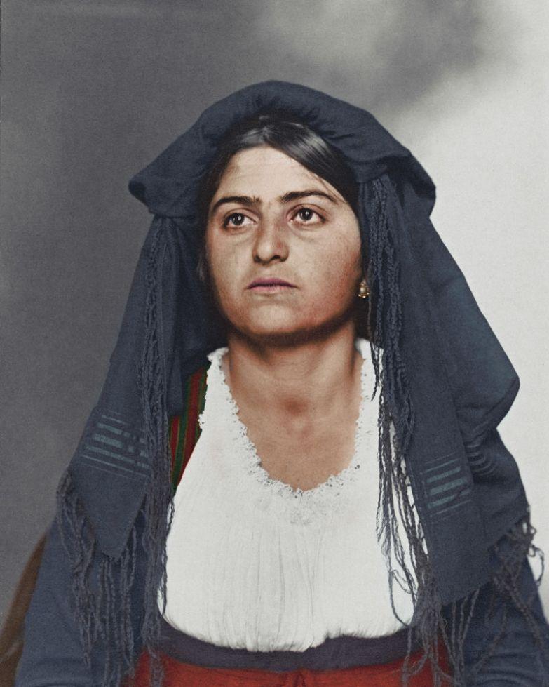 Итальянка, 1910 история, костюмы, сша, эмиграция