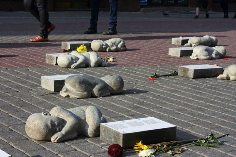 Памятник нерождённым детям в Риге памятники, памятники россии