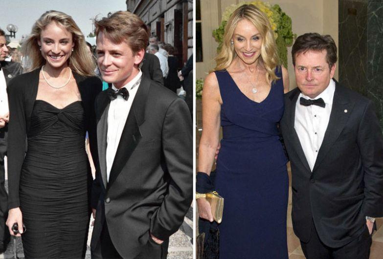 Майкл Джей Фокс и Трейси Поллан - 28 лет вместе голливуд, звезды, любовь, свадьбы, семьи