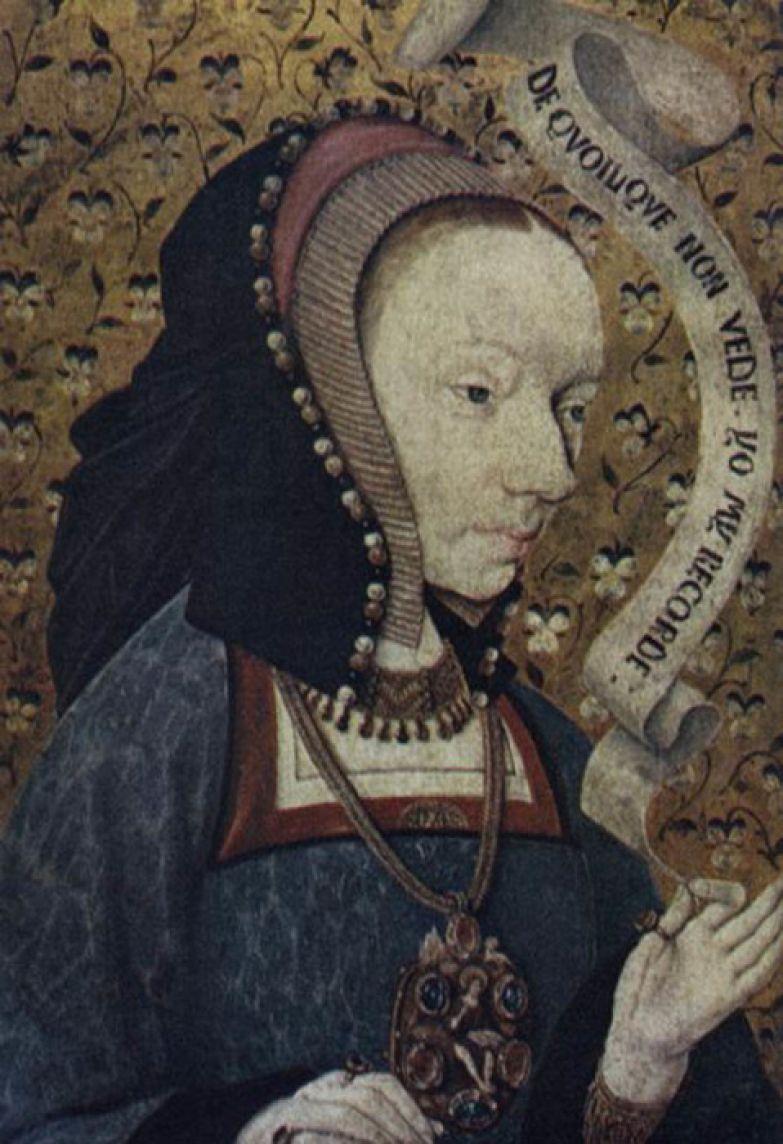 Сохранившийся портрет принцессы Жанны не поражает красотой, несмотря на всю лояльность художника