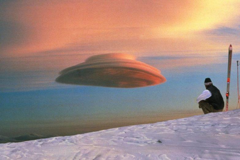 13. Лентикулярное облако, похожее на НЛО: интересные фото, удивительное рядом, факты