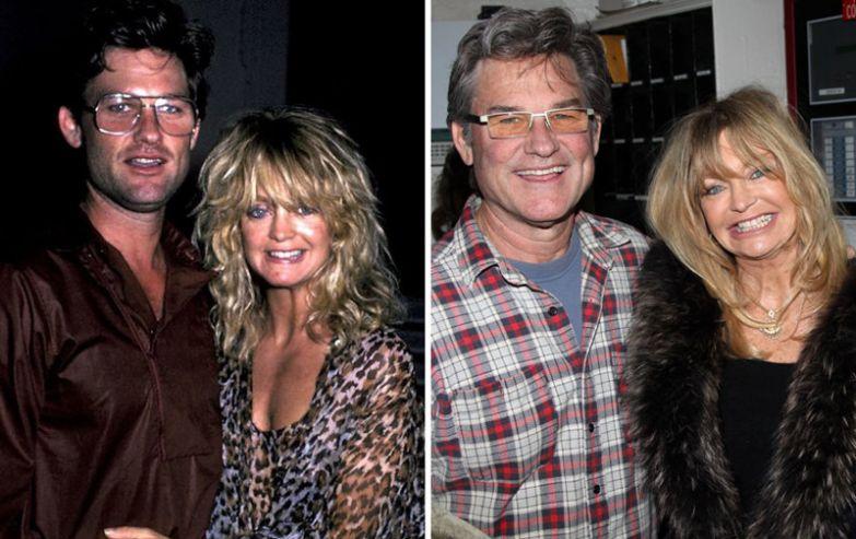 Голди Хоун и Курт Рассел - 33 года вместе голливуд, звезды, любовь, свадьбы, семьи
