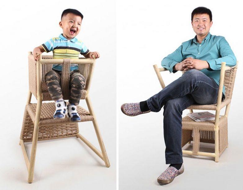 Один стул для всех возрастов от Yong Zhang,Ya-nan Shi