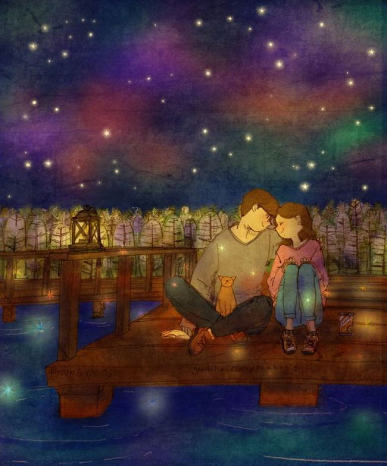 Вместе считать сверкающие звезды