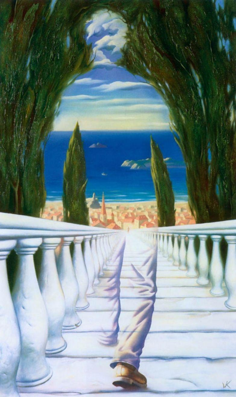 Лестница к волшебному средиземноморью
