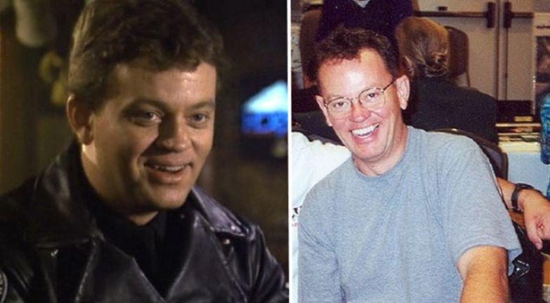 Юджин Тэклберри, бывший спецназовец, не ровно дышащий к оружию, в исполнении Дэвида Графа актёры, тогда и сейчас