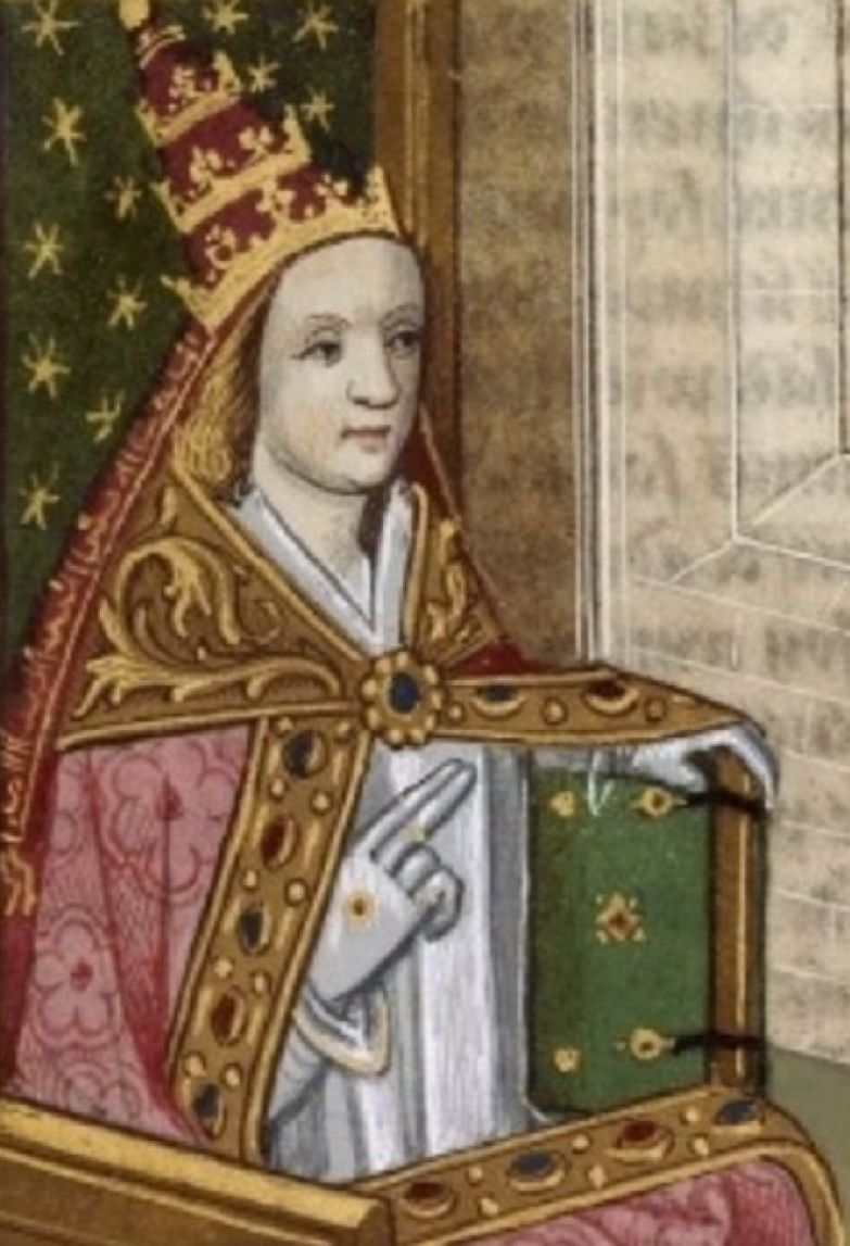 Иоанна - единственная папесса в истории католической церкви.