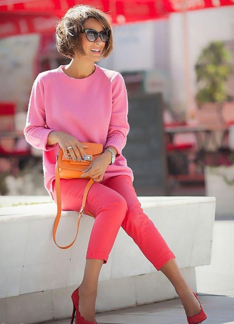с чем носить брюки лимонного цвета