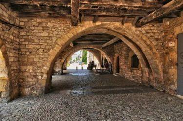 Крошечная деревенька в Аквитании находится на территории туристического района Пурпурный Перигор.