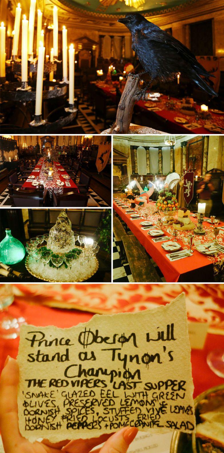 """Ресторан для всех любителей """"Игры престолов"""", All Men Must Dine, Лондон, Великобритания мир, подборка, ресторан"""