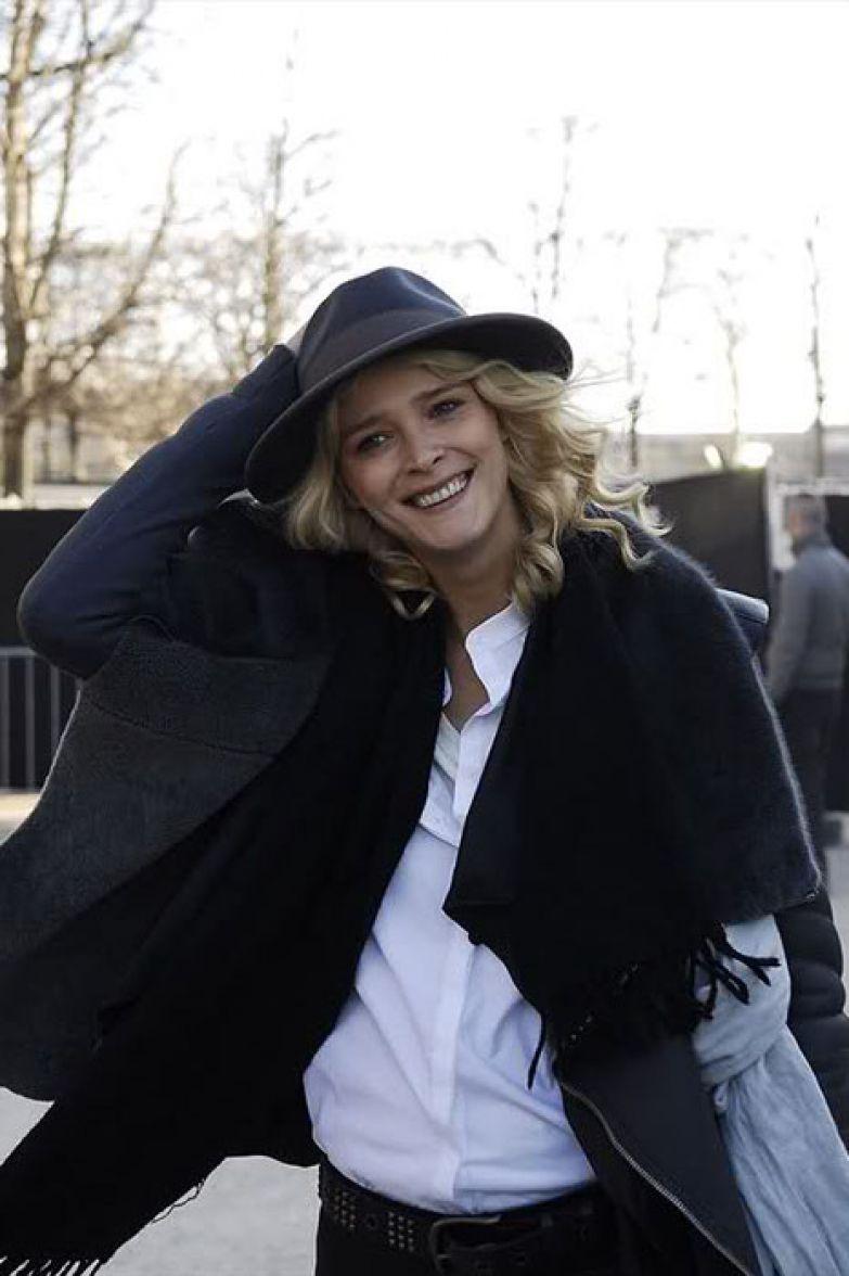 Стильная девушка из Эстонии.